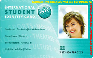 International Student Identity Card